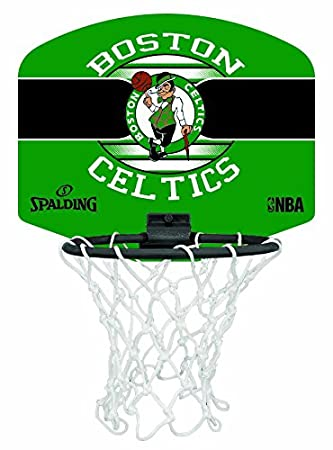 new arrivals 97292 1d340 Spalding Unisex Adult NBA Boston Celtics Mini Board - Multi ...