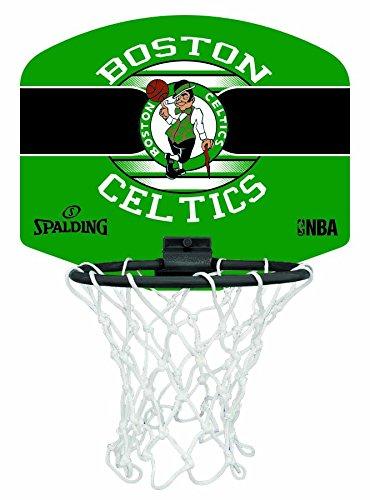 Spalding NBA Miniboard Boston Celtics 77-651Z Minicanasta, Unisex, Multicolor, Talla Única 3001588013617