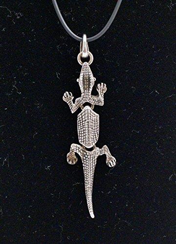 "Jenavi Necklace ""Small Lizard"" 20"""