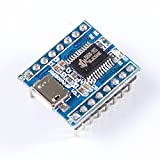 5PCS JQ6500 voice module MP3 module MCU serial control broadcast broadcast one to five control music IC