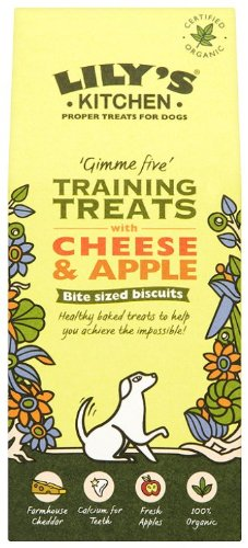Lily\'s Kitchen Training Treats with Cheese and Apple for Dogs 100g ...
