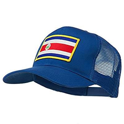 Costa Rica Patched Mesh Cap - Royal