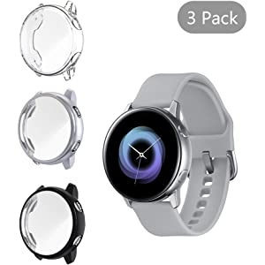 Amazon com: Samsung Galaxy Watch Active (40mm), Black - US Version