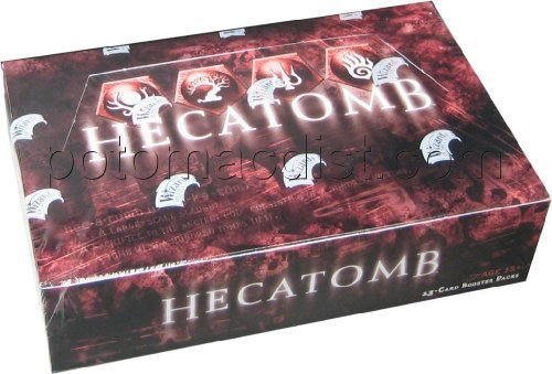 Premiere Booster Box - Hecatomb TCG Premiere Booster Box (24 Packs)