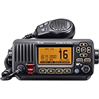 ICOM IC-M324G 21 Marine VHF Radio, with GPS, Black