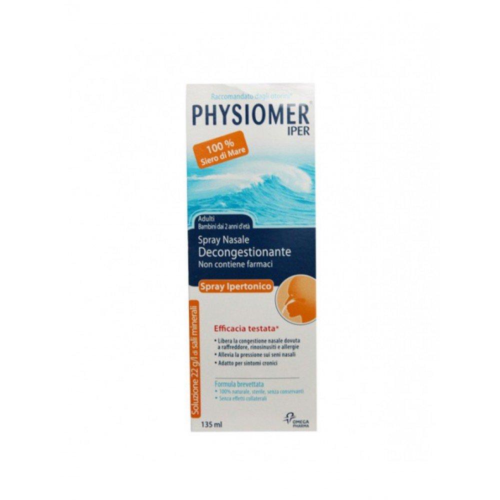 Nasenspray Physiomer Csr Spray Nasale Ipertonico Confezione Da 135 Ml CHEFARO PHARMA 12591