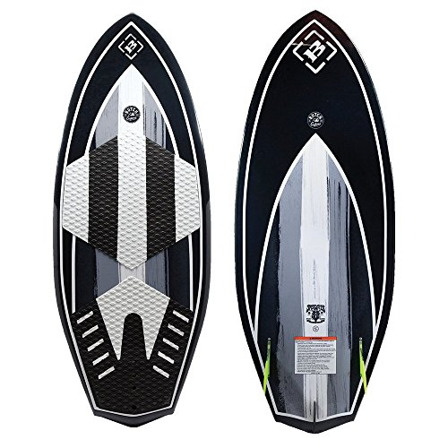 Byerly Speedster Comp. Mold Wakesurfer (2017)-Black and Sky-4'6 inch