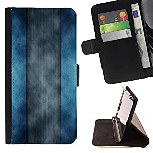 DEVIL CASE - FOR Sony Xperia Z1 L39 - Abstract Stripes - Style PU Leather Case Wallet Flip Stand Flap Closure Cover