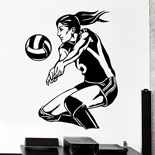 Tianpengyuanshuai Deportes decoración del hogar Mujeres Voleibol ...