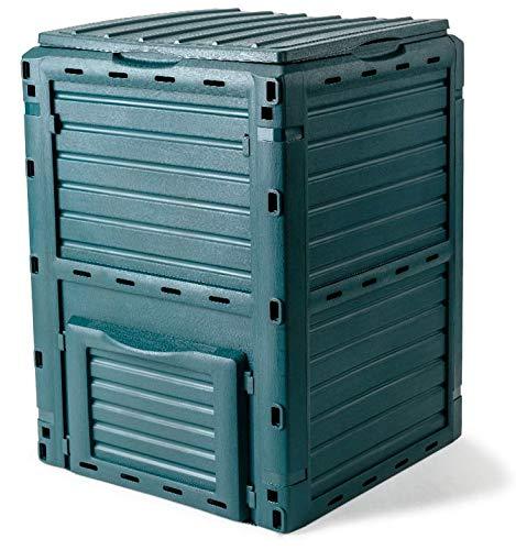Compostador de jardín de 300 litros Fadi Composter, verde: Amazon ...
