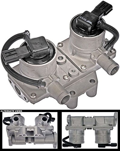 APDTY 119137 Electric Secondary Air Injection Check Valve Control Solenoid Fits 5.7L LX570 Toyota Land Cruiser Seqouia Tundra Replaces 25701-38060, 25701-38061, 25701-38062, 25701-38063, 25701-38064)