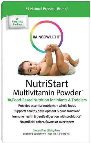 Multivitamins: Rainbow Light NutriStart Multivitamin Powder