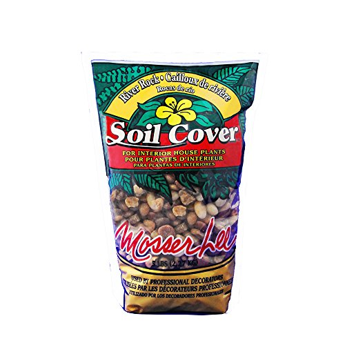 - Mosser Lee ML1121 River Rock Soil Cover, 5 lb.