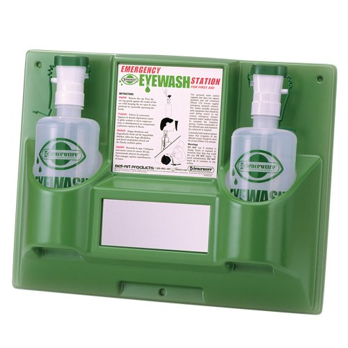 Bel-Art Emergency Eye Wash Safety Station; 2 Bottles, 1000ml (x2) (F24868-0000)