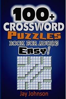 Easy Crossword Puzzles For Adults: Amazon co uk: Speedy