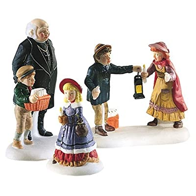 Department 56 Accessory PEACEFUL GLOW ON CHRISTMAS EVE Porcelain Dickens 58300