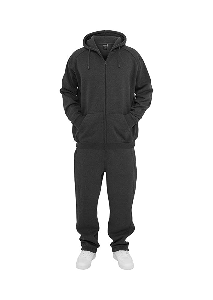 Urban Classics Blank Suit Jogginganzug TB001, Größe:S, Farbe:elephant