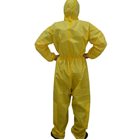 KLGU Ropa de protección química con Capucha, Aerosol ...