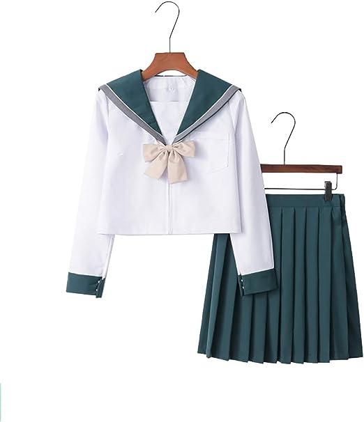 Falda de Uniforme de Colegio Japonesa para niñas, Disfraz de ...