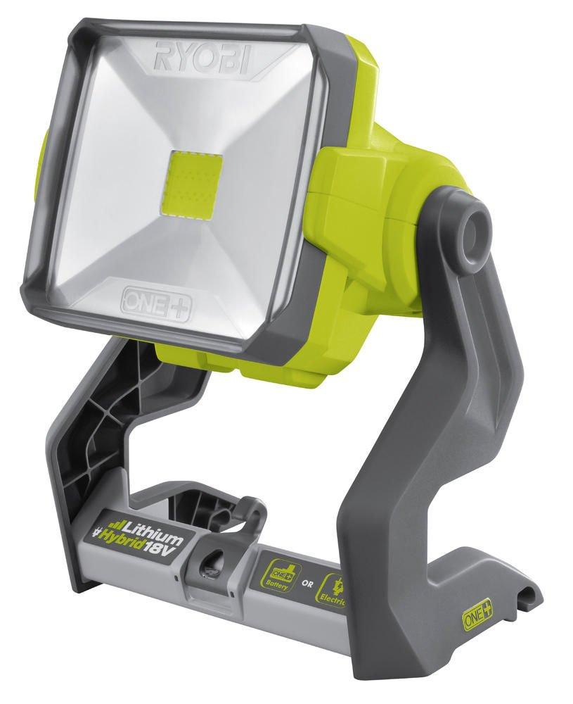 Ryobi R18ALH-0 - Lampada portatile da lavoro, Hybrid Led