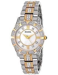 Bulova Women's 98L135 Crystal Bracelet Watch