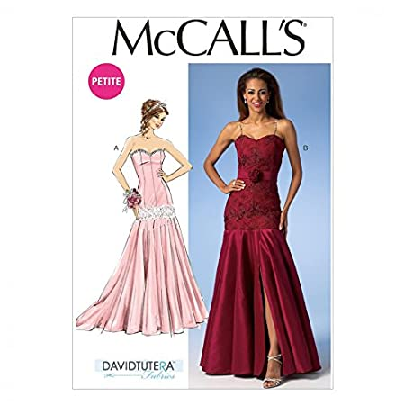 McCalls Ladies Sewing Pattern 7050 Glamorous Evening Dresses