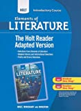Holt Elements of Literature, Introductory Course, RINEHART AND WINSTON HOLT, 0030996392