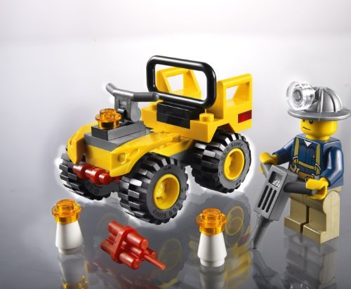 LEGO City 30152 Mining Quad Lego City 4-wheel bike (Quad Bike Lego)