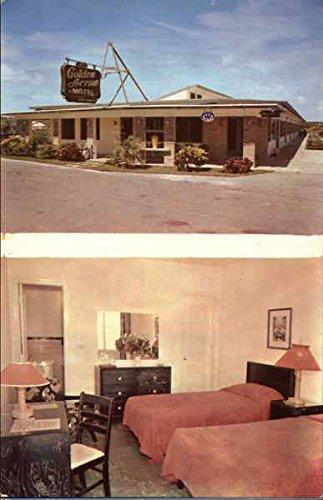 (Golden Arrow Motel Miami Beach, Florida Original Vintage Postcard)