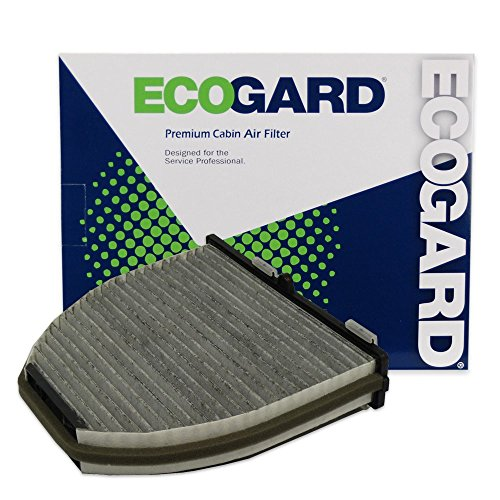 ECOGARD XC45844C Cabin Air Filter with Activated Carbon Odor Eliminator - Premium Replacement Fits Mercedes-Benz E350, C300, GLK350, C250, C350, E550, E400, CLS550, GLK250, SL550, CLS400, C63 AMG - C300 Part