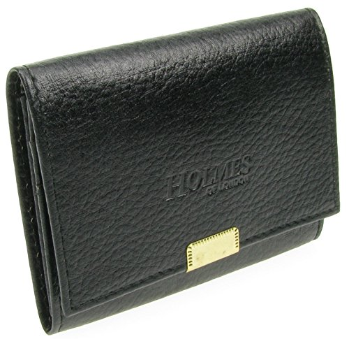 Leather Black Full London Mens Card Credit Holder Grain New UK of Wallet BL2 Holmes tHIYxw6w