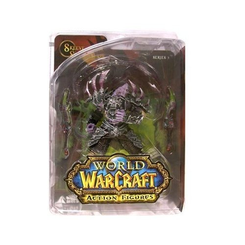 DC Comics World of Warcraft Series 3 Undead Rogue Action Figure