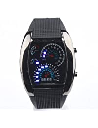 RPM Turbo Blue & White Flash LED Watch Brand NEW Gift Sports
