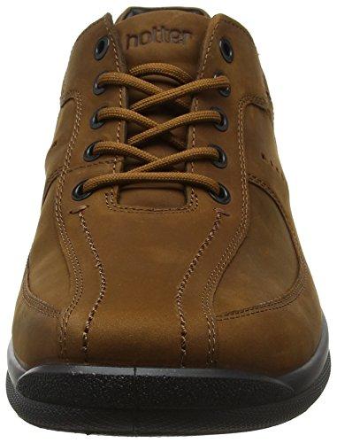 Hombre Marrón Zapatos Lance Hotter Tan B1A66Z