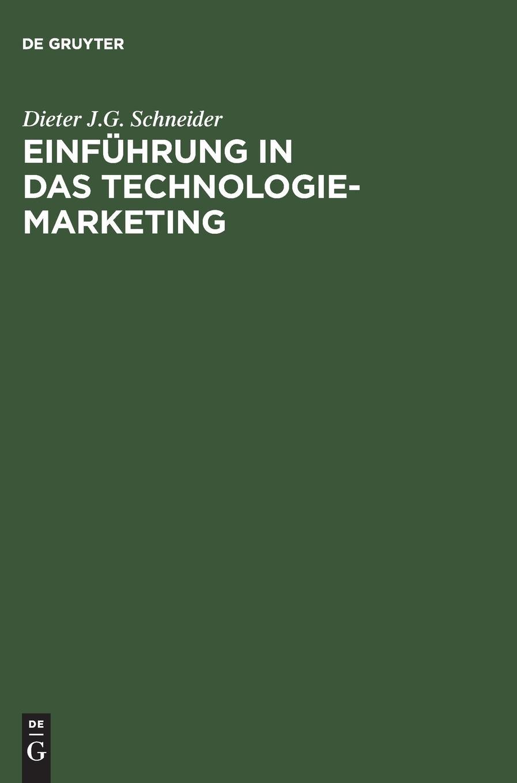Einführung in das Technologie-Marketing