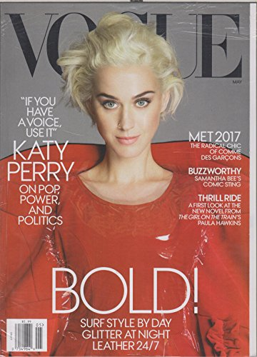 Vogue May 2017 Katy Perry on Pop, Power and Politics