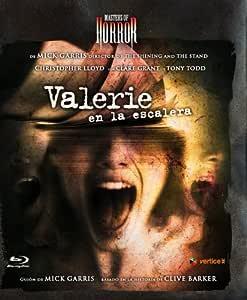 Masters Of Horror II: Valerie En La Escalera Blu-ray: Amazon.es: Tyron Leitso, Clare Grant, Christopher Lloyd, Nicola Lipman, Mick Garris, Tyron Leitso, Clare Grant, Starz Productions, Nice Guy Productions, Industry Entertainment: Cine