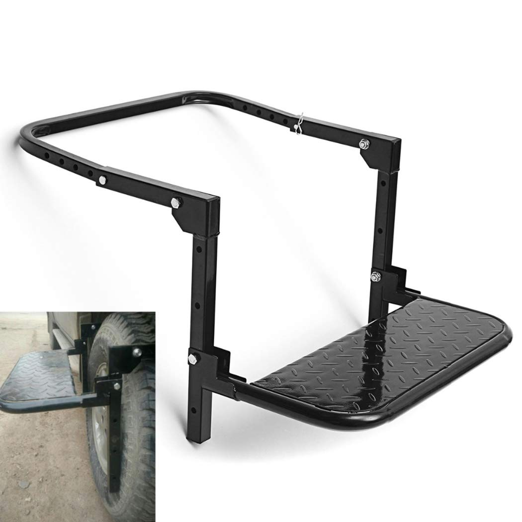 Fansport Tire Service Step Steel Truck Service Step Car Supplies for Trailer