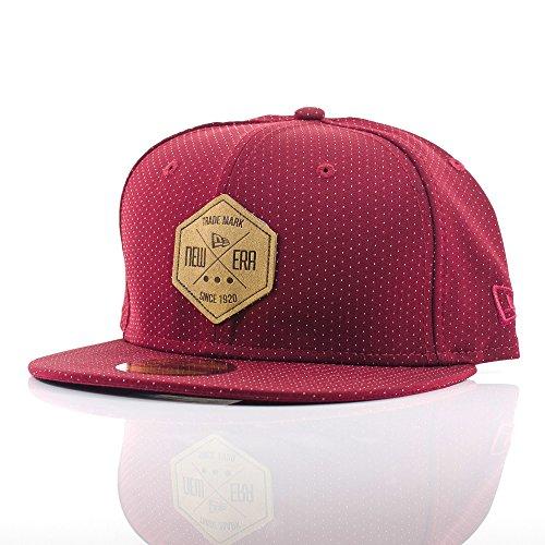 rosso Gorra béisbol hombre de 4 Rojo 1 7 para Era New 05RCqWW