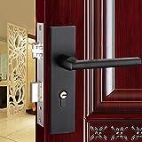 Daeou Interior Room Door Lock Bedroom Door Handle Space aluminum handle door lock