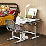 Baby Joy Kids Desk and Chair Set, Height