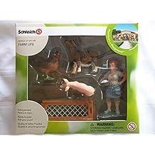 Schleich Farm Life Barnyard Animals Playset by Schleich
