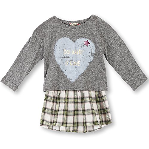 Speechless Big Girls' Wear 3-Ways Tee and Babydoll Top, Do What You Love, XL