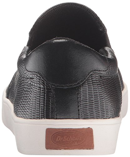 Scholl's Sneakers MADISON Reptile Black Leather Women's Dr dtqwOx0d