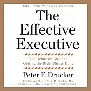 The Effective Executive Hörbuch