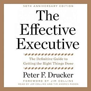 The Effective Executive Audiobook
