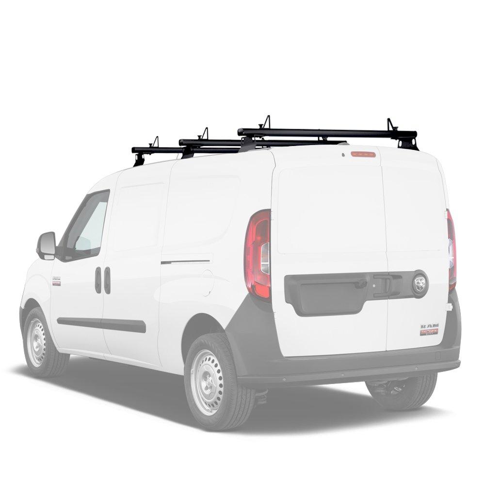 aa-racksモデルax302フィアットドブロ2015-onアルミvan屋根ラックシステムwith Ladder Stopper 2 Bar-50