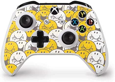 Skinit Mr Happy Collage Xbox One S Controller Skin - Officially Licensed Sanrio Gaming Decal - Ultra Thin, Lightweight Vinyl Decal Protection
