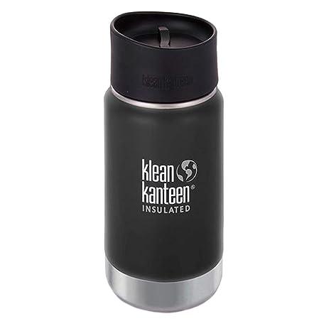 Klean Kanteen Botella, Acero Inoxidable, Shale Black, 5.4 cm
