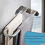 ZTCWS Home Hand Towel Rack Brushed Nickel Premium